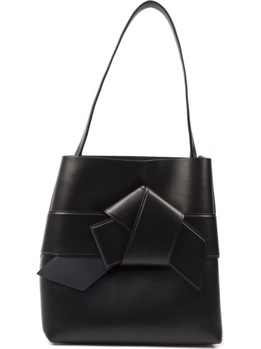 Acne Studios Black Musubi Shopping Leather Bag