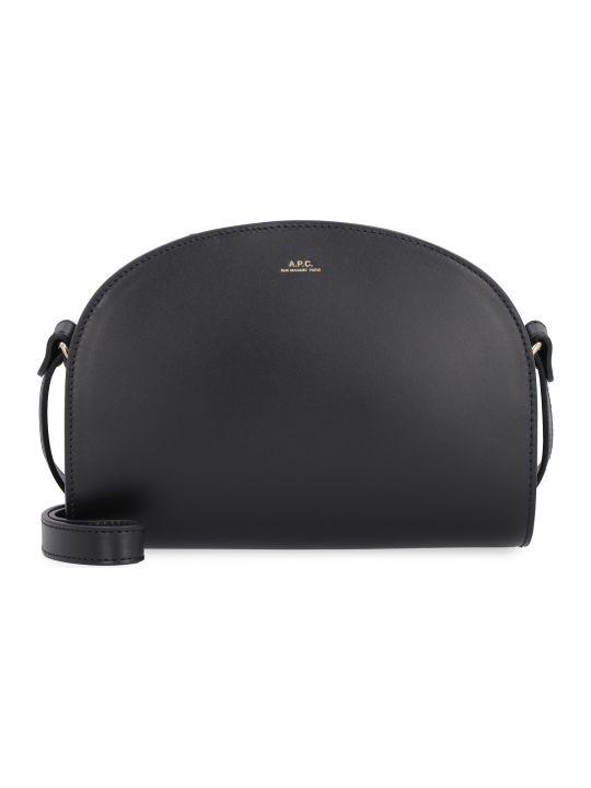 A.P.C. Leather Crossbody Bag