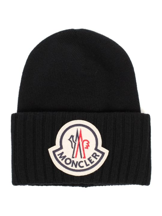 Moncler Hat Tricot W/logo