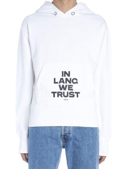 Helmut Lang 'in Lang We Trust' Hoodie