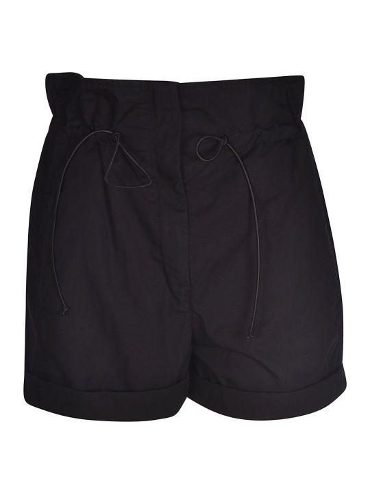 Tela Drawstring Cropped Shorts