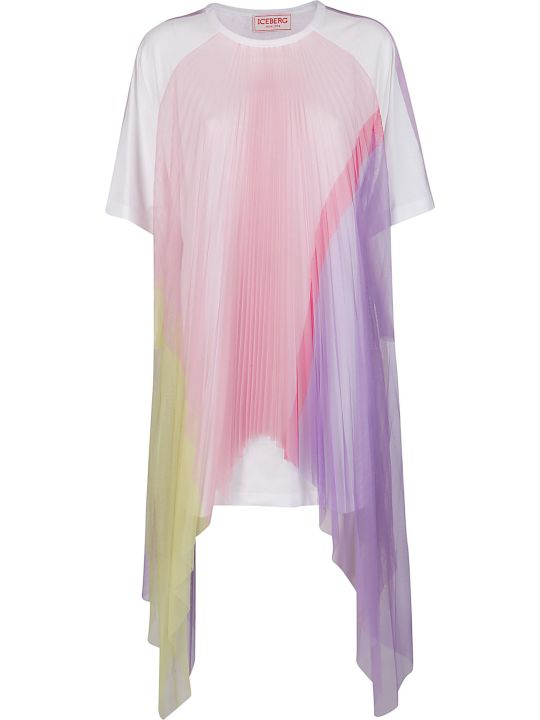 Iceberg Multicolor Cotton Dress
