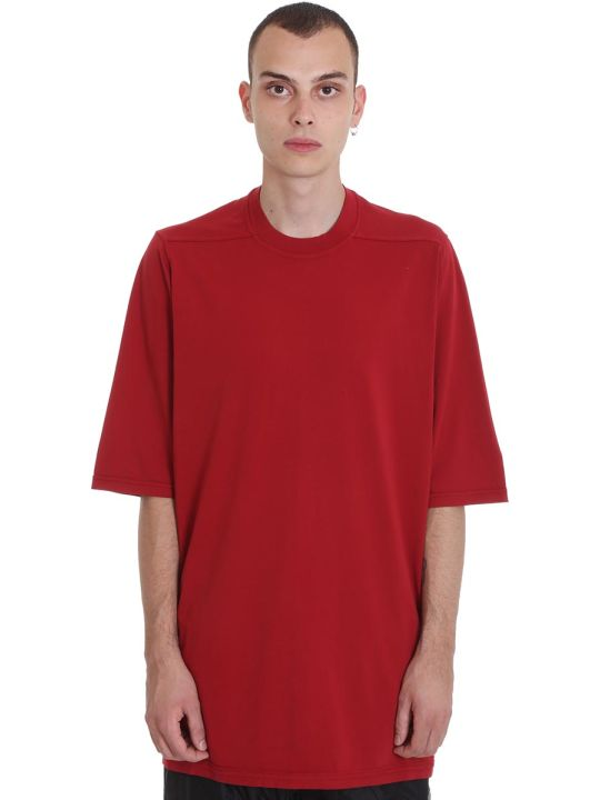 DRKSHDW Jumbo Tee T-shirt In Red Cotton