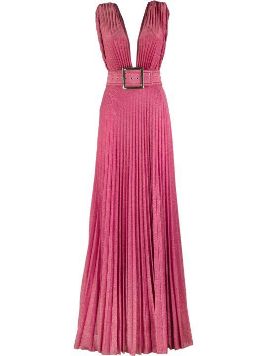 Elisabetta Franchi Celyn B. Long Dress With Side Slit