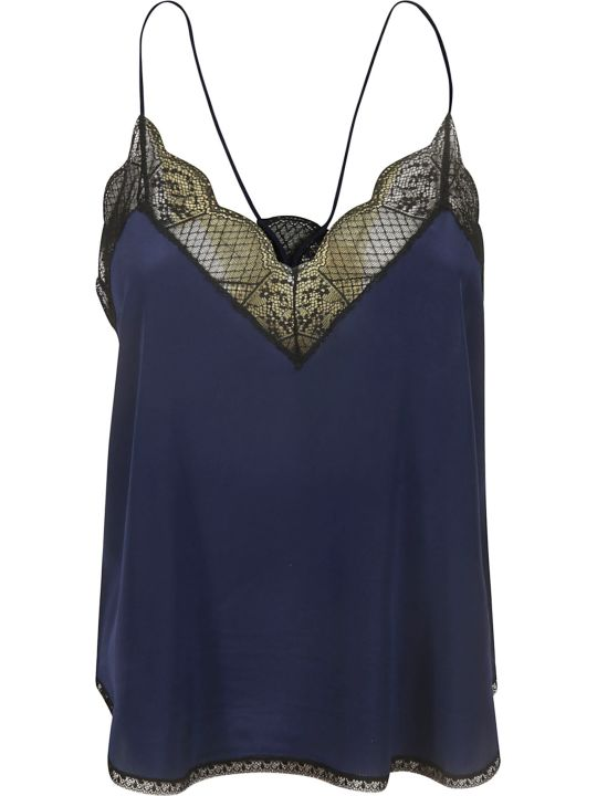 Zadig & Voltaire Christy Cdc Laced Tank Top
