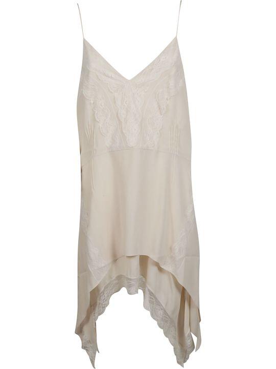 IRO Lace Trim Midi Dress