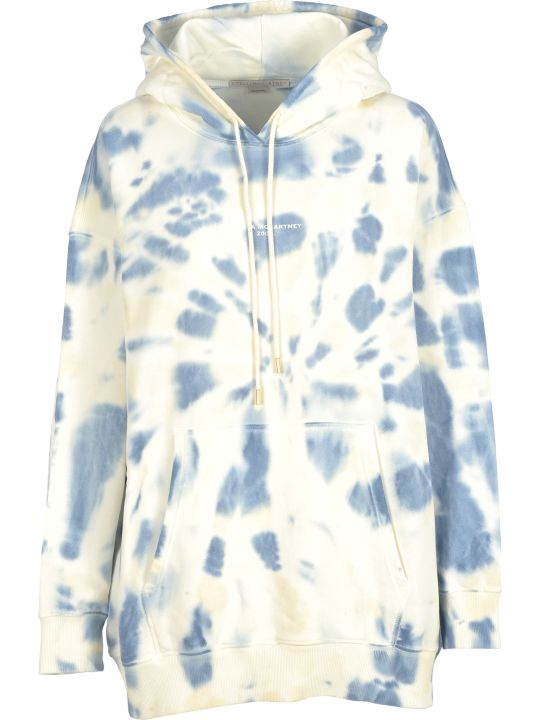 Stella McCartney Hooded Fleece Tie Die