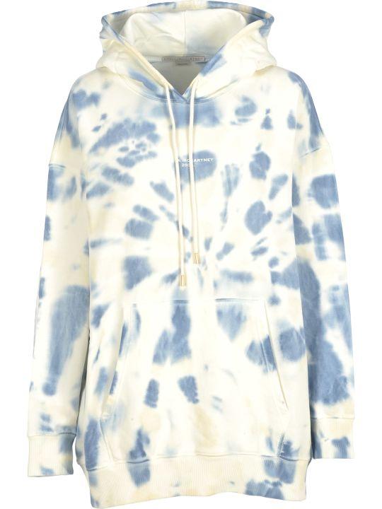 Stella McCartney Hooded Fleece Tie Die
