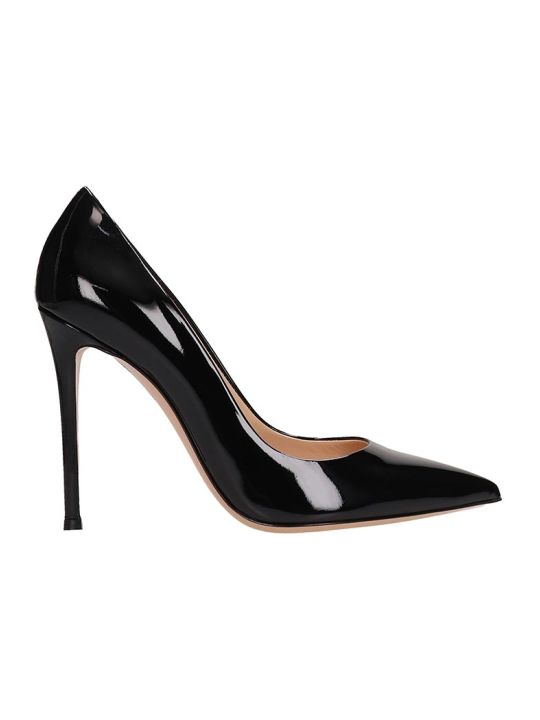 Lerre Black Patent Leather Decollete