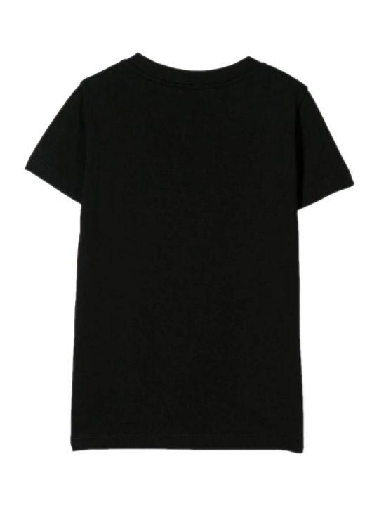 Balmain Black Cotton T-shirt