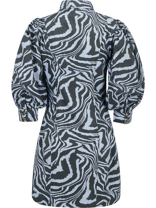Ganni Poplin Dress