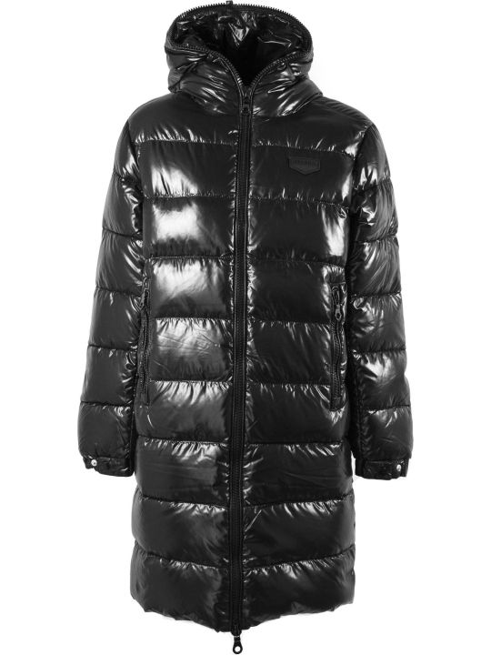 Duvetica Tyl Black Nylon Down Jacket