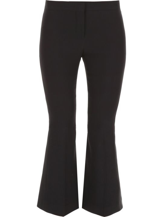 Alexander McQueen Trousers With Back Laces