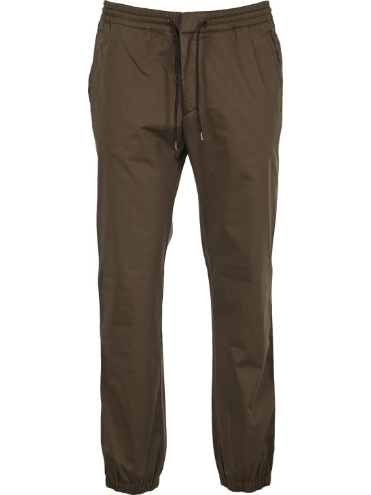 Z Zegna Z-zegna Slim-fit Drawstring Trousers