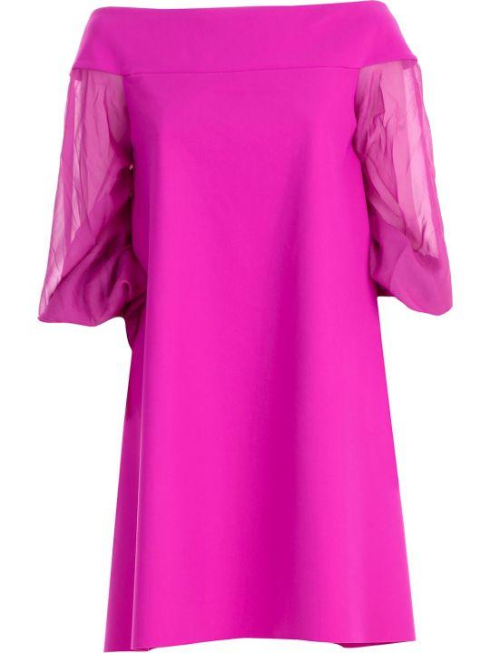 La Petit Robe Di Chiara Boni Chiara Boni La Petite Robe Georgette Dress