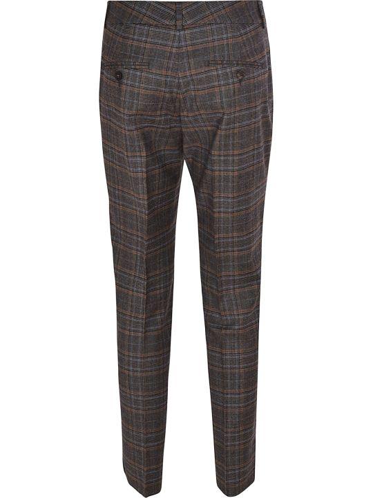 Peserico Tartan Pattern Trousers