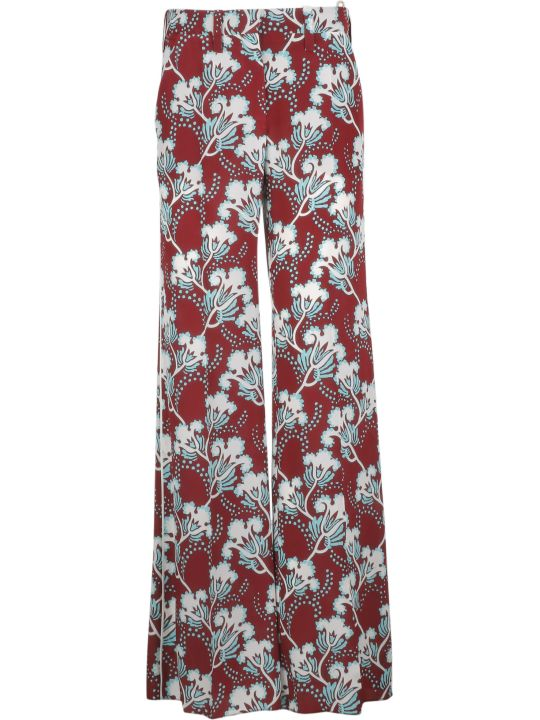 Valentino Floral Print Trousers
