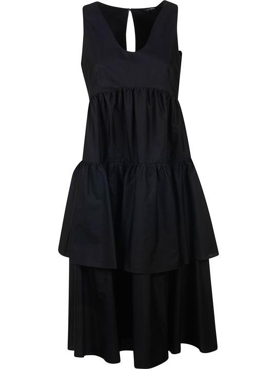Aspesi High Waist Sleeveless Long Dress