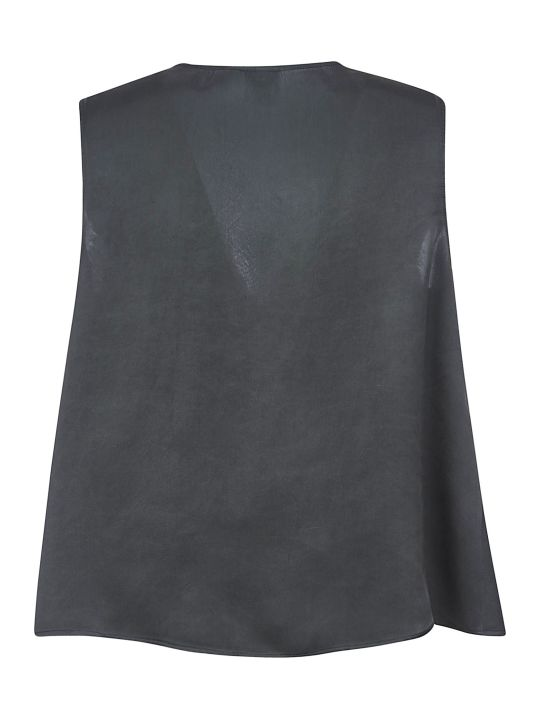 Aspesi V-neck Cropped Top