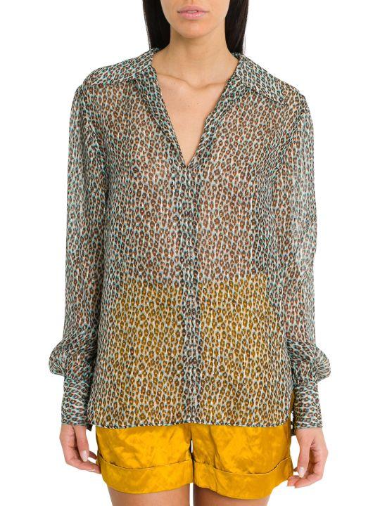 Philosophy di Lorenzo Serafini 3d-effect Leopard-print Shirt