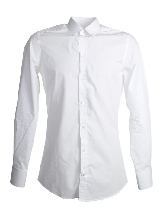 Dolce & Gabbana White Gold Fit Shirt