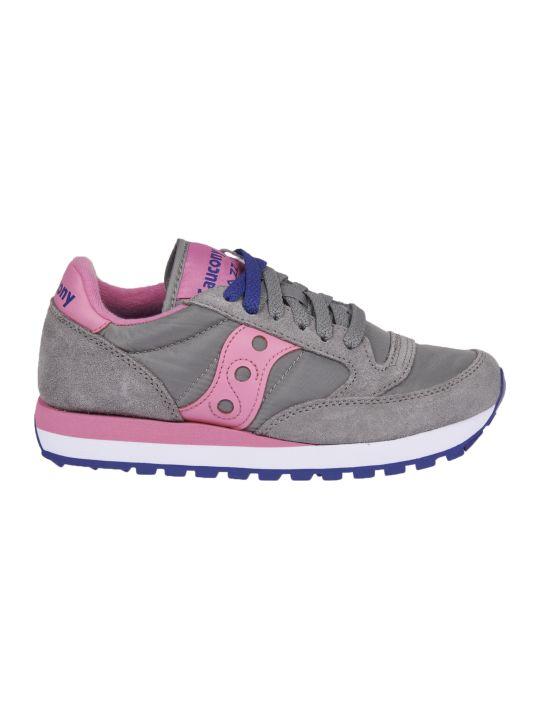 Saucony Saucony Jazz Original Grey And Pink Sneakers