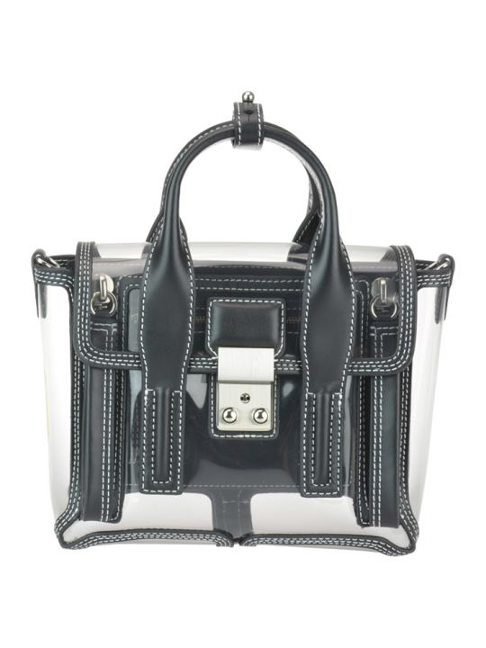 3.1 Phillip Lim Pashli Mini Transparent Satchel Bag