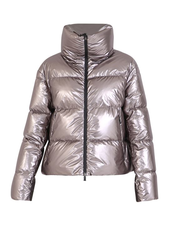 Herno Metallic Nylon Padded Jacket