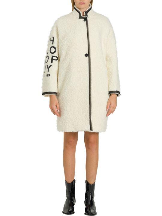 Philosophy di Lorenzo Serafini Teddy Coat With Contrasting Logo