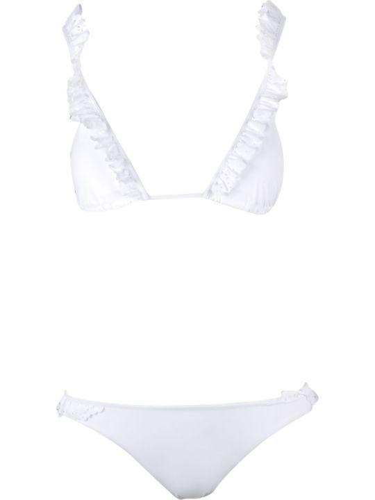 SEMICOUTURE Frilled Trim Bikini