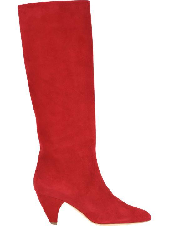 Laurence Dacade Laurence Dacade Mid Length Suede Boots