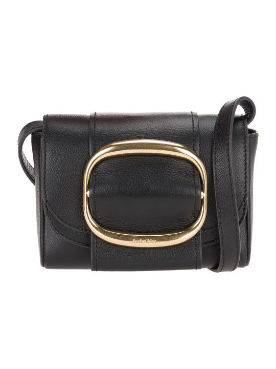 See by Chloé See By Chloe' Leather Hopper Crossbody Bag