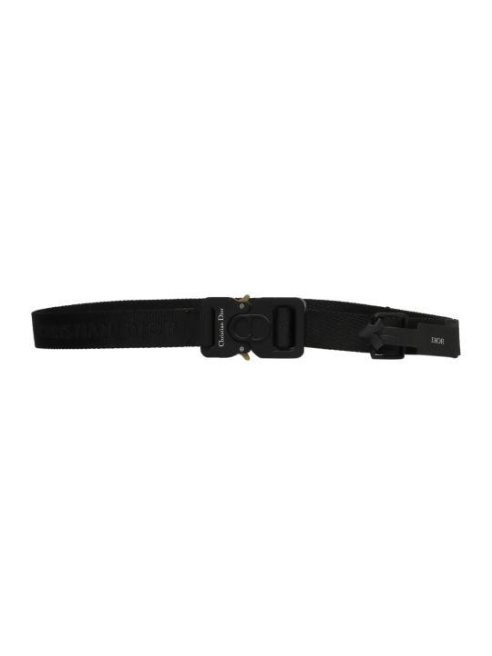 Dior Logo Print Belt