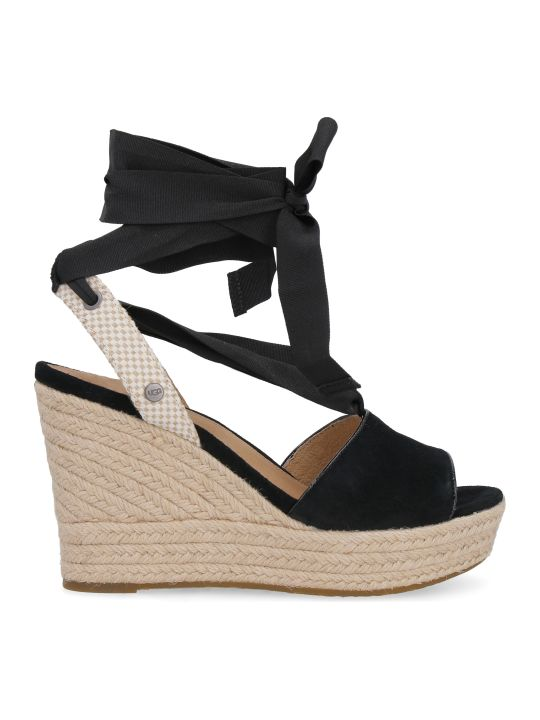 UGG Siloh Suede Wedges