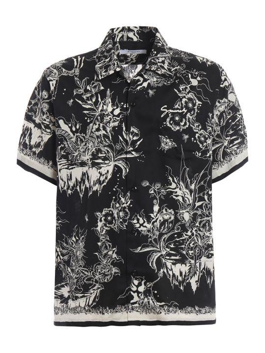 Givenchy Monster Print Hawaiian Shirt