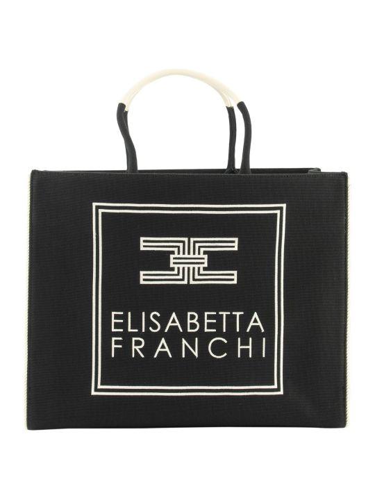 Elisabetta Franchi Celyn B. Canvas Bag
