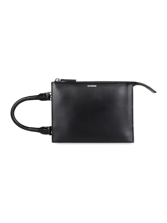 Jil Sander Tootie Sm Leather Handbag