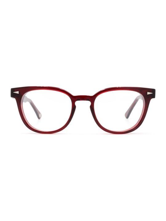 AHLEM Ahlem Rue Duroc Burgundy Glasses