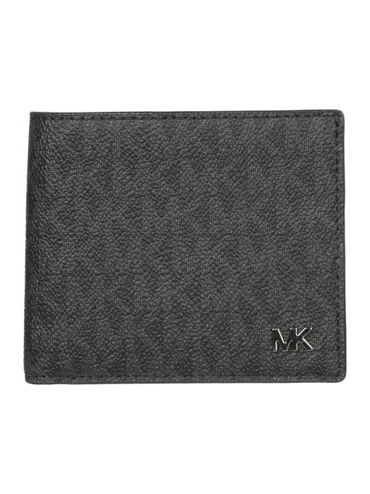 Michael Kors  Genuine Leather Wallet Credit Card Bifold Jet Set