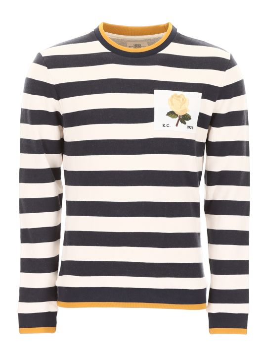 Kent & Curwen Sweatshirt With Rose Patch
