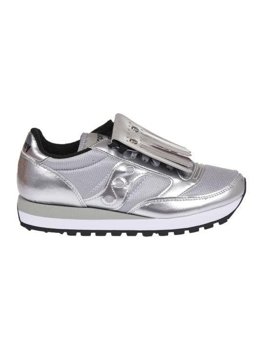 Saucony Silver Jazz Sneakers