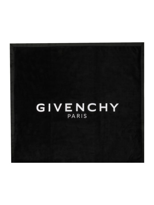 Givenchy Logo Embroidered Towel