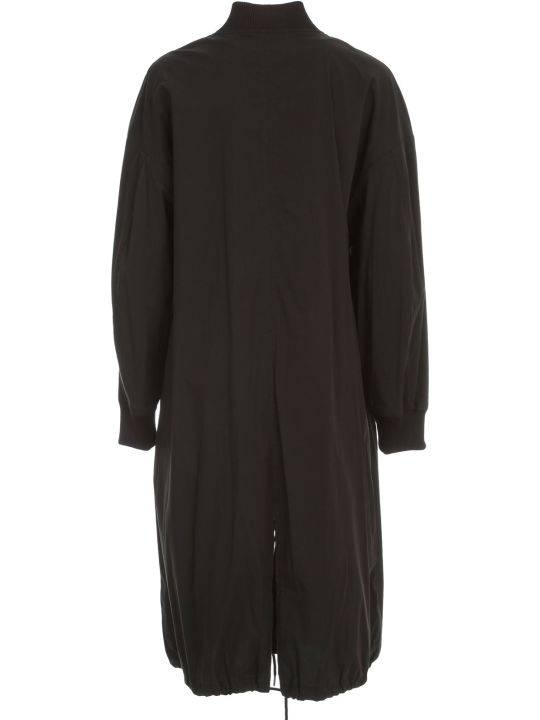 DKNY L/s Zip Coat W/ Fron