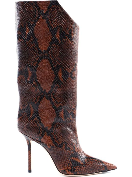 Jimmy Choo Snake Printed Boot