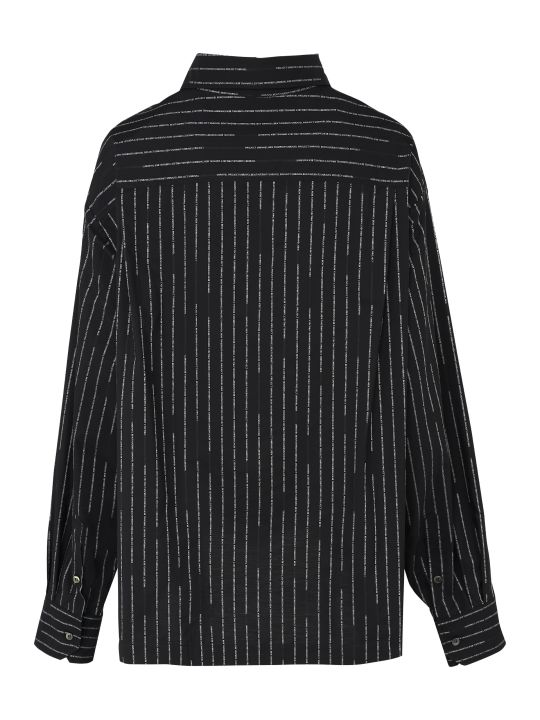 Ben Taverniti Unravel Project Oversize Striped Shirt