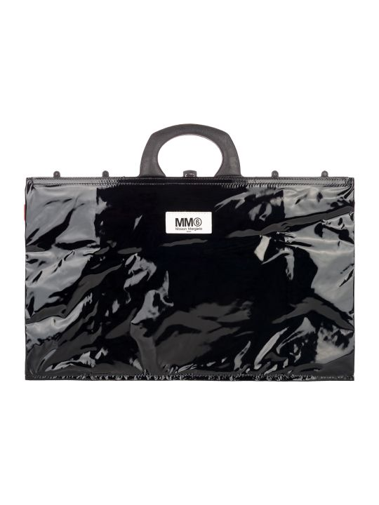 MM6 Maison Margiela Mm6 Pvc Tote Bag