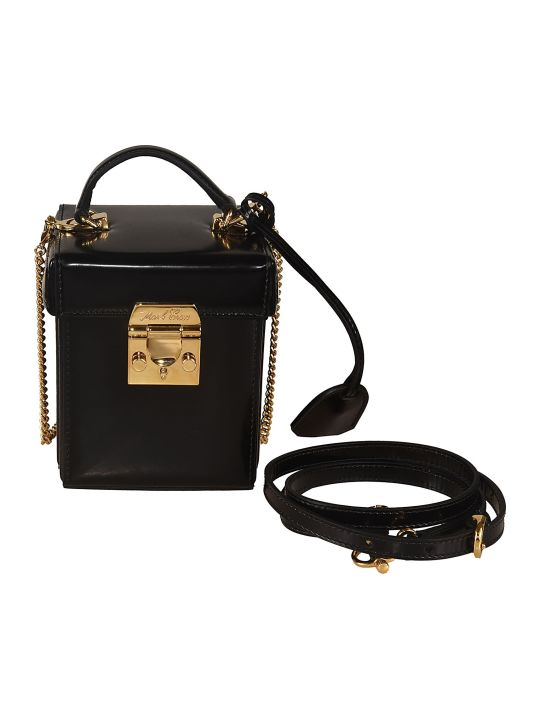 Mark Cross Grace Cube Shoulder Bag