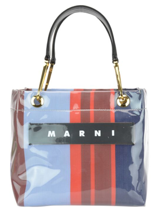 Marni Logo Striped Bag