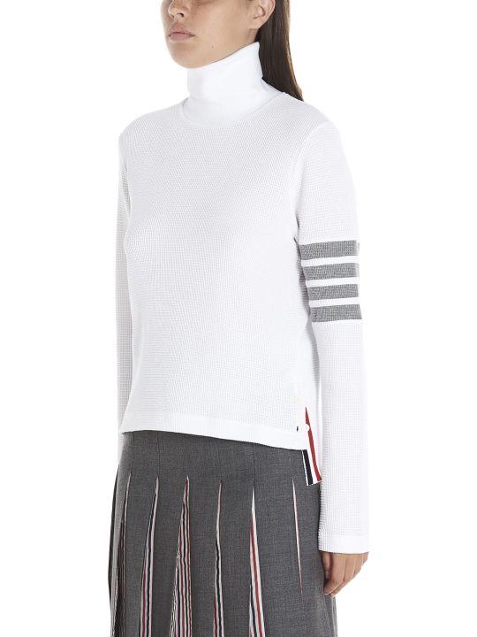 Thom Browne '4 Bar Stripe' Sweater