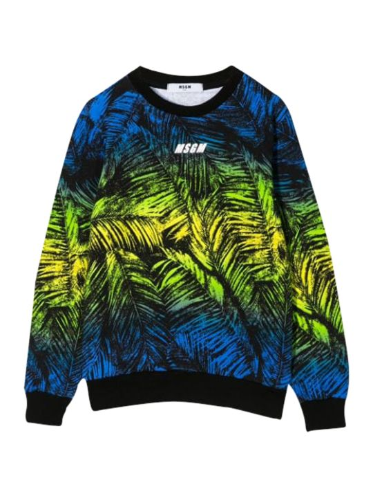 MSGM Kids Printed Sweatshirt